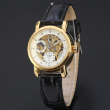 mininalist elegant men watch with small dial winner watch