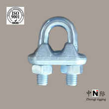 drop forged carbon steel wire rope clip Italian type