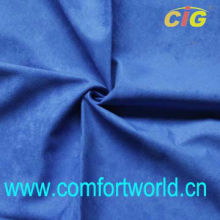 Poly Suede Fabric Sofa With Brush Backing Fabric