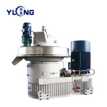 Soybean waste pellet machine