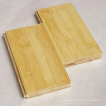 Plancher en bambou de couleur naturelle horizontale T & G