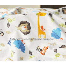 100% Cotton/Tc/Pigment Print/Reactive Print/Dyed/White/Flannel Fabric