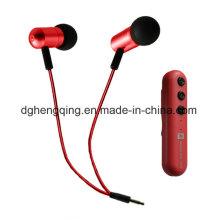Versión Bluetooth 4.1 auriculares deportivos con micrófono y control remoto, auricular Bluetooth