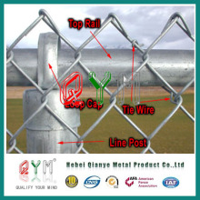 Qym-Chain Link Fence with Round Post