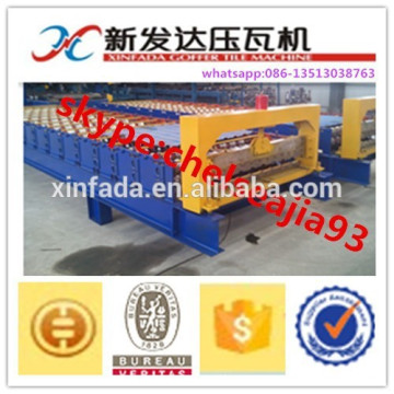 1100 Roofing Sheet Roll Forming Machine