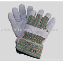 Cow Split Canadian Rigger Gloves ZM31-L
