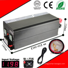 3000W DC-AC Inverter 12VDC or 24VDC 48VDC to 110VAC or 220VAC Pure Sine Wave Inverter with AC Charge
