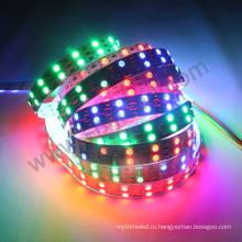 ws2812b sk6812 5В dotstar двойной светодиодный пиксель полосы 15мм 120 светодиодов/м smd5050 Сид RGB Сид