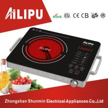 A carcaça do metal para algum potenciômetro usa o fogão cerâmico elétrico da eficiência elevada