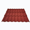 Color Stone Coated Metal Roof Tiles