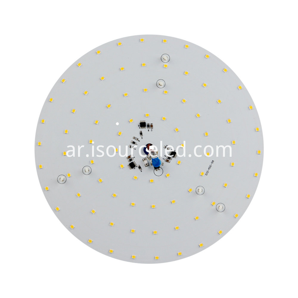 Front view of SCR dimming 30W ceiling module for Ceiling Light