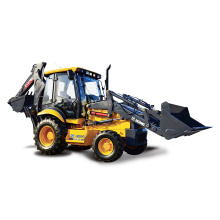 China small garden tractor Wheel Loader with backhole XT870 for sale