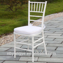 2015 NEW DESIGN WHITE RESIN CHIAVARI CHAIR FOR OUTDOOR WEDDING