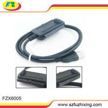 "USB 2.0 bis 2.5 / 3.5 ""IDE / SATA Konverter Kabel"