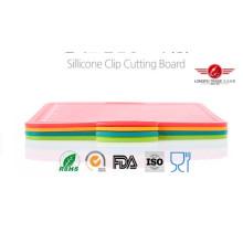 Planche à découper pliante en silicone