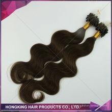 extensión micro del pelo de las extensiones micro del pelo de las extensiones del cabello humano real barato extensiones