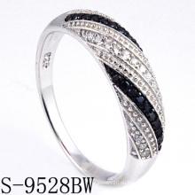 Новые модели Серебряное кольцо ювелирных изделий 925 (S-9528BW. JPG)