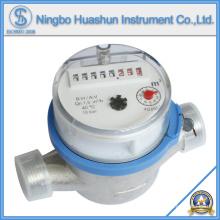 Compteur d'eau de corps en laiton à jet sec simple à jet (LXSC-15D ~ 40D)