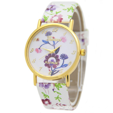 Fashion Colorful Leather Watch for Women