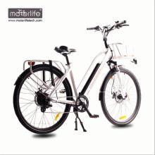 2017 BAFANG Mid Drive Stadt E-Bike hergestellt in China / beste Qualität 36V250W Ebike, Big Power Batterien elektrische Bikesfür Verkauf