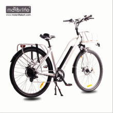 2017 BAFANG mid drive city bicicleta eléctrica hecha en China / mejor calidad 36V250W ebike, gran potencia baterías eléctricas bikesfor venta