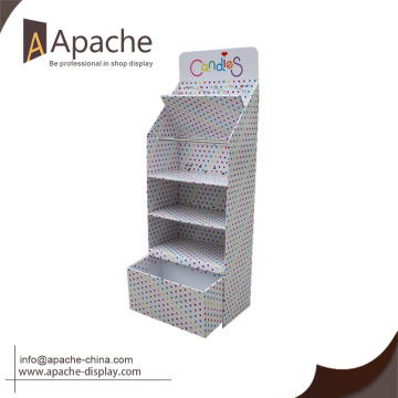 2016 Fashion Design cardboard display rack for Promotion