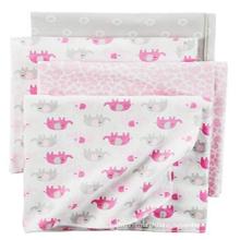 Flanela de bebê impresso Cobertores de recebimento