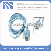 A estrenar para la hembra de DB9 de Cisco al cable RJ45