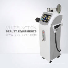 Portable IPL+RF+E-light+nd yag laser hair removal&tattoo removal machine
