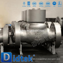 Didtek High Quality Cast Steel Swing Check Valve With Flange