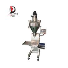 Semi Automatic Dry Powder Filling Machine Cocoa Dentifrice Clean Colour Powder Augar Filler Machinery