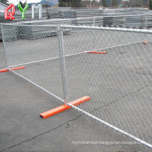 Temporary Fence Panel for Construction Industrial Crowd Control Barrier