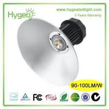 HYGEA 100W conductor de pozo de alto brillo llevó luz de bahía alta
