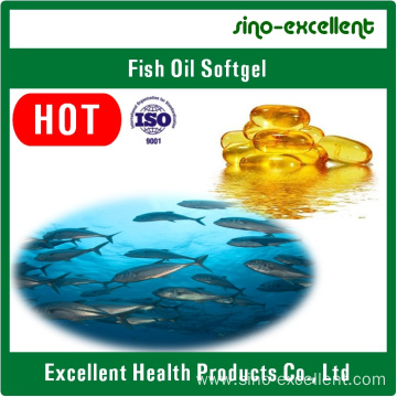 Omega 3 Fish oil softgel/soft capsule