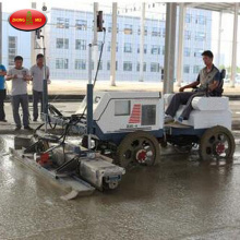 Road Construction Ride On Laser Screed Machine