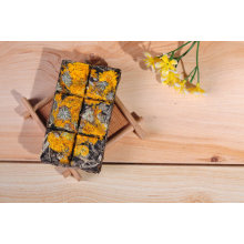 Chocolat Type PU Er thé à saveur de fleur dorée Chrysanthemum dans boîte de cadeau