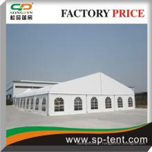 Tente de dôme de grande courbe de luxe de 18 m de conception supérieure avec cadre en aluminium pour événements