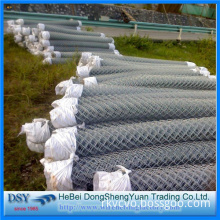 BWG10 Galvanized Wire Chain Link Fence