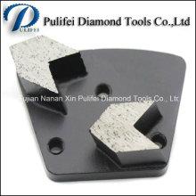 Piso de piedra de mármol del granito Piso concreto de la herramienta de la renovación del piso Plataforma de pulido del metal