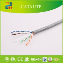 Code de couleur UTP de catégorie 6 Câble réseau avec ETL