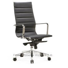 Modern Office Eames Leather Swivel Manager Chair (HF-SJD100)