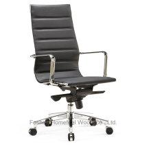 Escritório moderno Eames Leather Swivel Manager Chair (HF-SJD100)