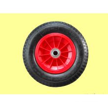 Pneumatic Rubber Wheel for Trailer, Various Vehicles, with Metal or Plastic Rims