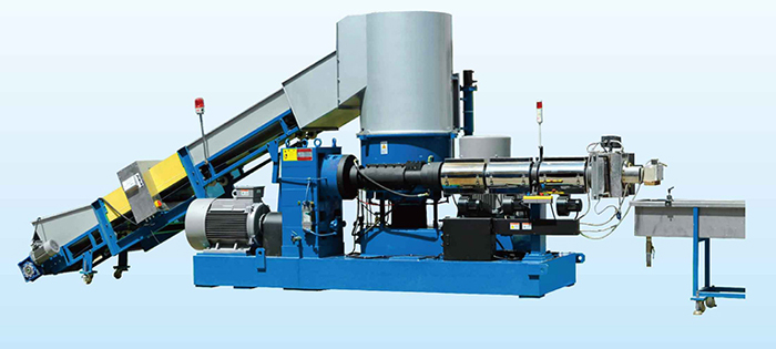 Waste Stretch Film Pelletizing Machinec