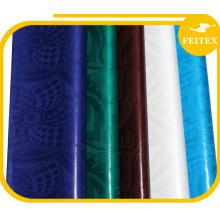 Bazin riche robes ventes 100% coton peigné tissu tissu guinea shadda pour la fête de mariage Chine fournisseur