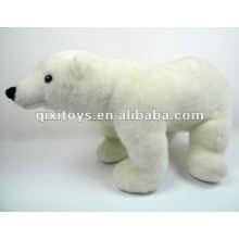 стоящий Полярный медведь плюшевые мягкие игрушки