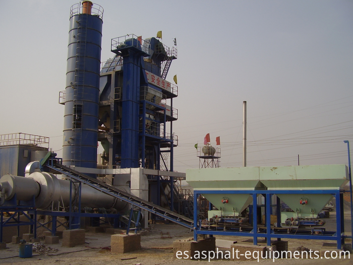 Asphalt recycling plants