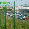 RAL+6005+Green+PVC+coated+358+Fence+Panels