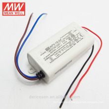 Original MEANWELL 6W to 36W APV series 16W 24VDC constant voltage led transformer UL CE cheap price APV-16-24