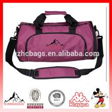 Sac de sport de sac à main d'épaule de sac de sport de grand sac de messager d'amant de voyage pour la gym